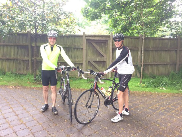 Pedal power! Our intrepid duo set for epic cycling challenge