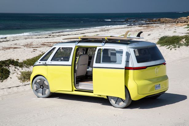 Response to new VW camper van is electric