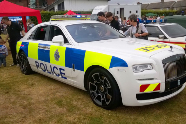That's what you call a cop car!