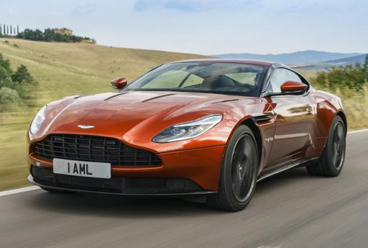 Witness the Aston Martin DB11…a stunningly beautiful car!